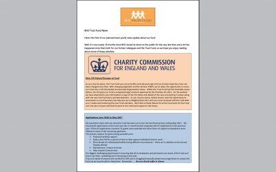 BHS Trust Fund Newsletter