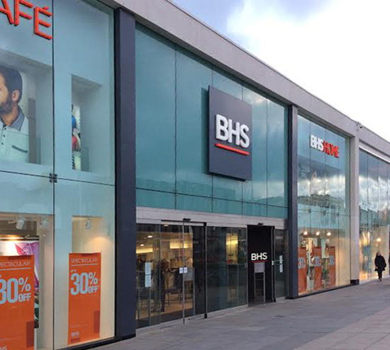 BHS Trust Fund - BHS Storefront prior to 2016 closure