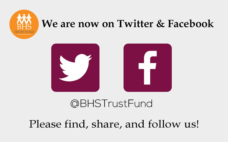 We are now on Twitter & Facebook