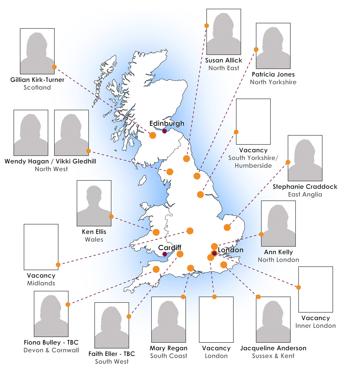 Case Workers Map