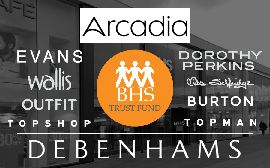 BHS Trust Fund - Debenhams & Arcadia